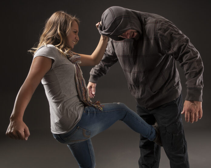 GIRL FIGHTS BACK SELF DEFENSE