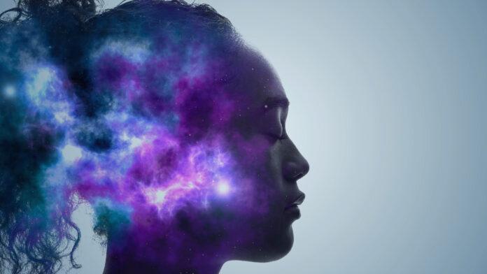 Concept d'IA (intelligence artificielle). Apprentissage profond. La pleine conscience. Psychologie.