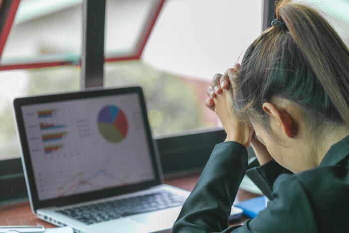 Stress at work, failure to work, business failure.